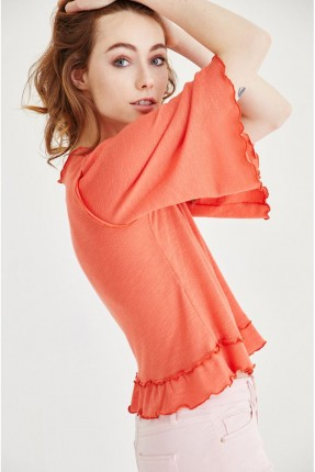 بلوز سبور - برتقالي