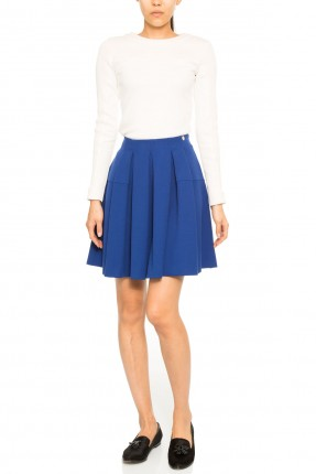 تنورة قصيرة فلو - ازرق