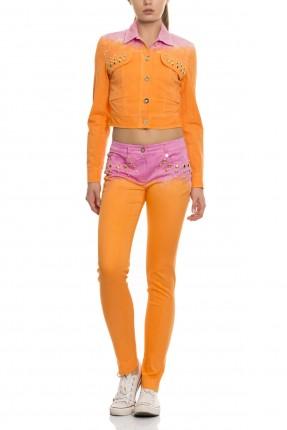 بنطال نسائي - برتقالي