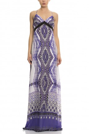 فستان طويل - موف