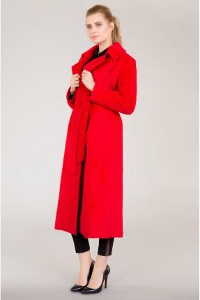 جاكيت نسائي طويل سبور - احمر