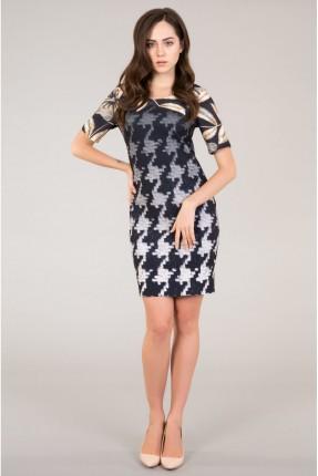 فستان نصف كم
