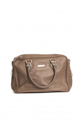 حقيبة يد جلد نسائية
