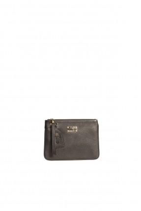 حقيبة جلد نسائية - اسود