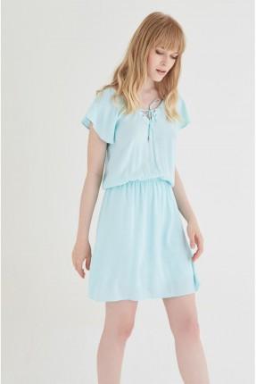 فستان سبور قصير - ازرق