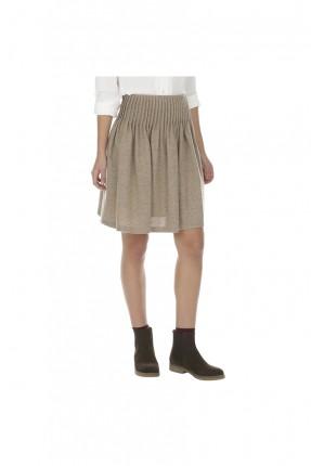 تنورة قصيرة - كريم