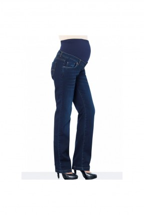 بنطال حمل جينز - ازرق داكن