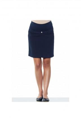 تنورة حمل قصيرة - كحلي