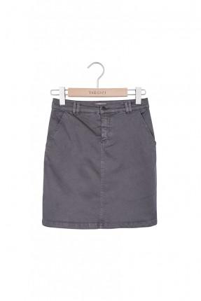 تنورة قصيرة - رمادي