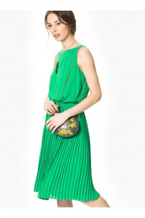 فستان حفر - اخضر