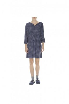 ثوب نوم نسائي قصير - كحلي