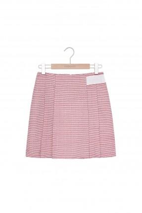 تنورة قصيرة - وردي