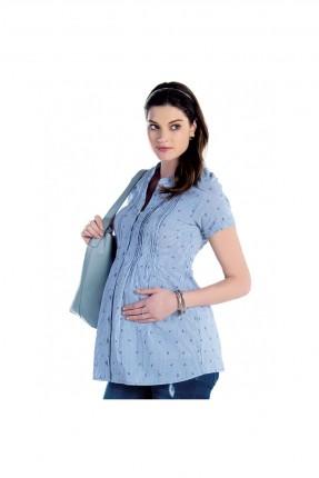 قميص حامل - ازرق