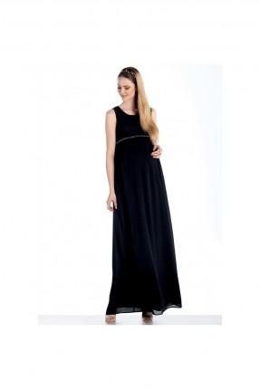 فستان حمل حفر - اسود