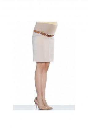 تنورة حمل قصيرة - بيج