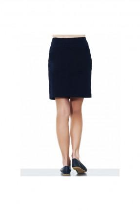 تنورة حمل قصيرة - اسود