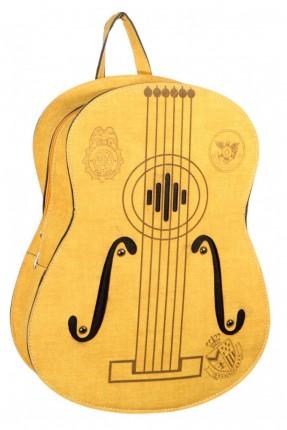 حقيبة ظهر نسائية موديل غيتار - اصفر