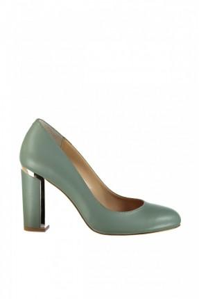حذاء نسائي كعب عالي - اخضر
