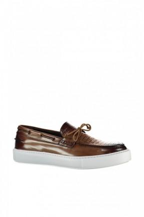 حذاء رجالي سبور - بني