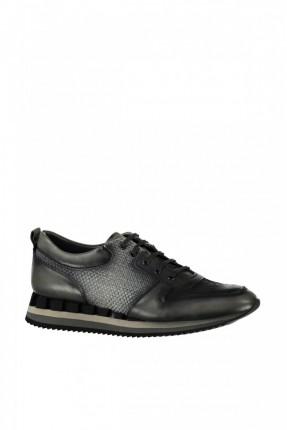 حذاء رياضة رجالي - رمادي داكن