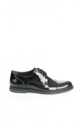 حذاء رجالي لميع- اسود