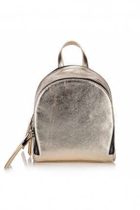 حقيبة ظهر نسائية - ذهبي
