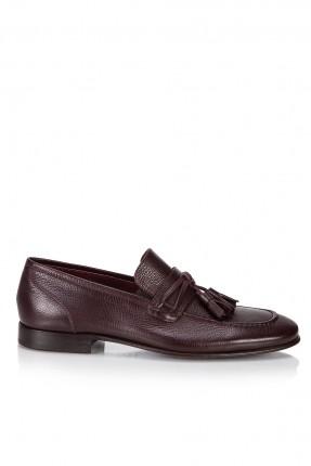 حذاء رجالي - خمري
