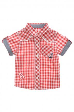 قميص بيبي ولادي - احمر