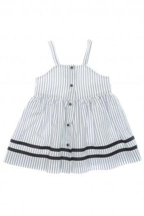 فستان بيبي بناتي مقلم