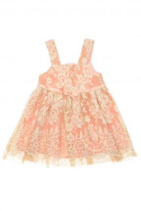 فستان بيبي بناتي شيال مزخرف