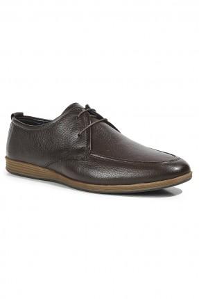 حذاء رجالي كلاسيكي - بني