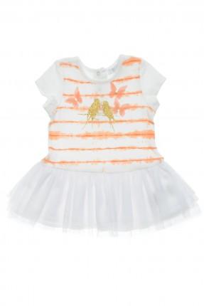فستان بيبي بناتي مع طبعة