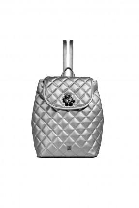 حقيبة ظهر نسائية - رمادي