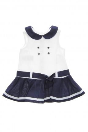 فستان بيبي بناتي - ازرق داكن