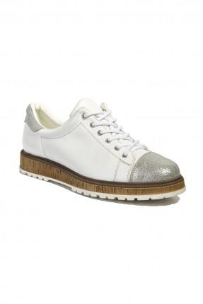 حذاء نسائي سبور - ابيض