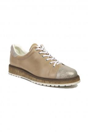 حذاء نسائي سبور - بيج