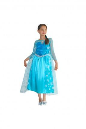 فستان اطفال بناتي ملكة الثلج