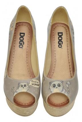 حذاء نسائي مكشوف صورة قطة