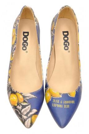 حذاء نسائي صورة شجرة ليمون