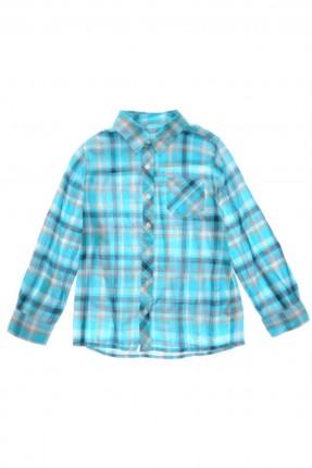 قميص اطفال ولادي - تركواز