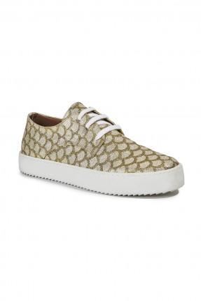 حذاء نسائي سبور - ذهبي