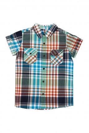 قميص نصف كم اطفال ولادي كارو