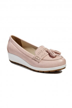 حذاء نسائي - زهر فاتح