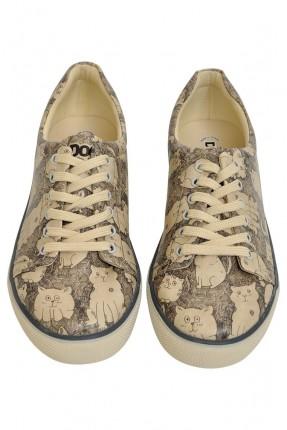 حذاء نسائي نقشة حيوانات