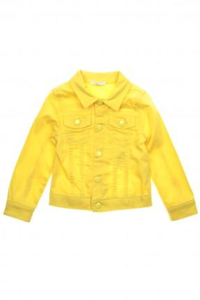 جاكيت اطفال بناتي - اصفر