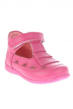 حذاء بيبي بناتي - فوشي