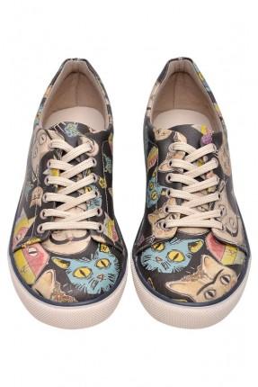 حذاء رجالي سبور صورة قطط