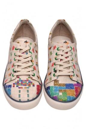 حذاء رجالي سبور مطبوع