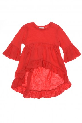 بلوزة اطفال بنات - احمر