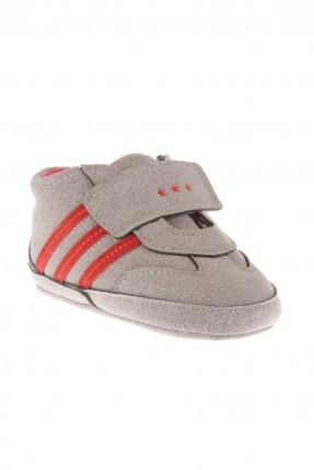 حذاء بيبي ولادي - رمادي